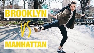 НЬЮ-ЙОРК: Иностранцы говорят по-русски | Бруклин vs Манхэттен