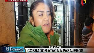 Los Olivos: Cobrador Masacra A Sujeto Porque No Tenía El Pasaje Completo