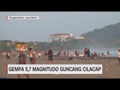 Kepanikan Warga Saat Gempa 5,7 Magnitudo Guncang Cilacap