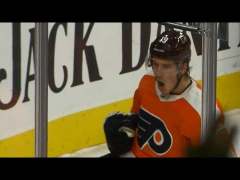 Gotta See It: Flyers' Patrick scores first goal at home in NHL career