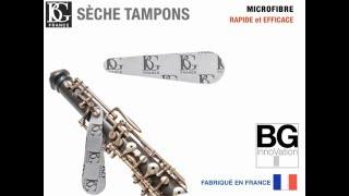 BG Écouvillon cor anglais deux parties - Video