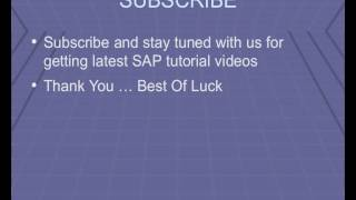 SAP Cost Center Accounting Module Transaction Codes Tutorial