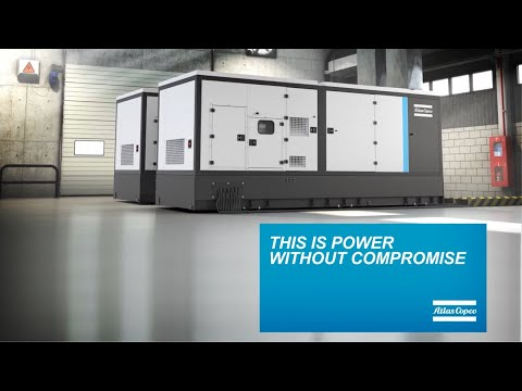 Power without compromise industrial diesel generators Atlas Copco QIS - zdjęcie