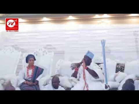 Women Visit to The Ooni of Ife, Oba Enitan Adeyeye Ogunwusi