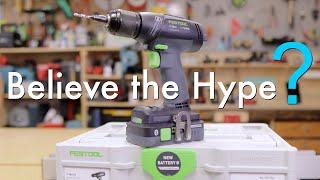 Festool T18+3 Easy Drill-- Everything you Need to Know!