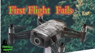 FPV First Flight and Crash Fail #shorts
