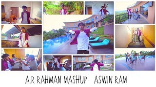 A. R. Rahman Mashup (16 Songs - One Take) | Aswin Ram ft. Choreo Grooves