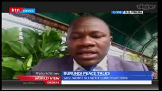 World View 8th December 2016 - [Part 1] -  Peace talks underway in Burundi