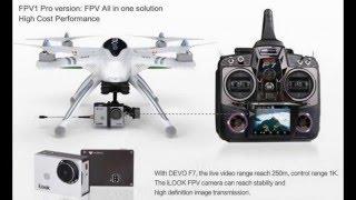 Walkera QR X350 Pro FPV GPS RC Quadcopter + DEVO F7 For Gopro 3 RTF