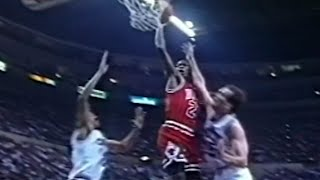 Michael Jordan UNSTOPPABLE 10PTS In 1minute Or So UNCUT! MUST WATCH! (1991.03.16)