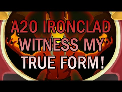 WITNESS MY DEMONIC POWER! | Ascension 20 Ironclad Run | Slay the Spire