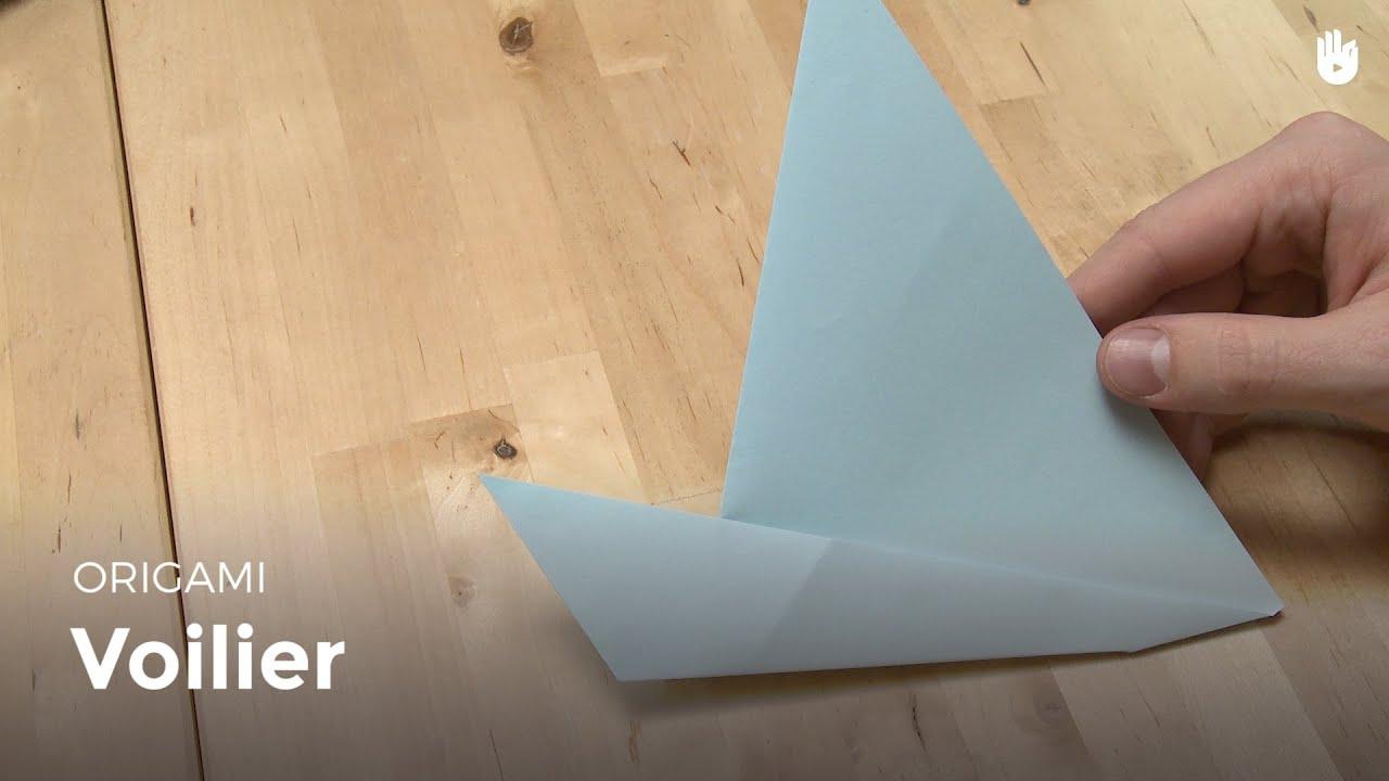 faire un voilier en papier apprendre faire des origamis sikana. Black Bedroom Furniture Sets. Home Design Ideas