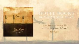 """Video thumbnail of """"Hotel Books - Saltwater For Blood"""""""