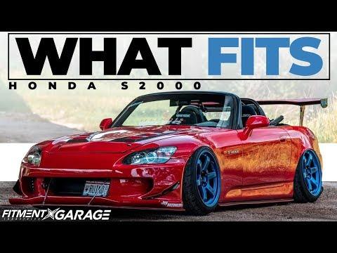 Honda S2000    What Wheels Fit