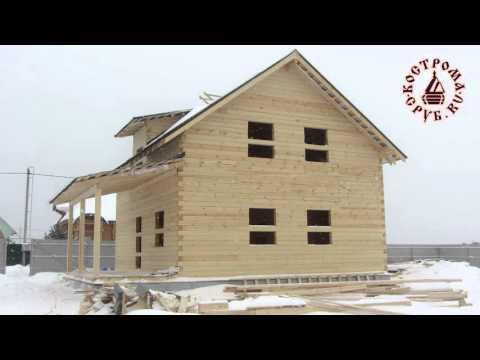 Возведение компактного двухэтажного дома