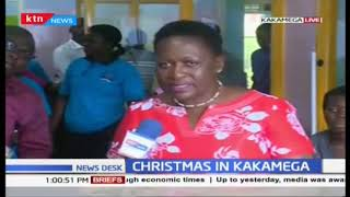 Christmas in Kakamega: Community led by MP visit patients at County Referral Hospital