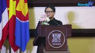 Pidato Menteri Luar Negeri RI, Retno LP Marsudi, Pada Peringatan Ke 51 ASEAN Day