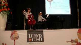 preview picture of video 'Maciej Seget - Cello - Georg Goltermann, Etiuda kaprys - Talents for Europe'