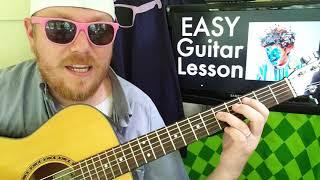 Hobo Johnson   Subaru Crosstrek XV  Easy Guitar Lesson Tabs Easy Chords Strumming Beginner Lesson