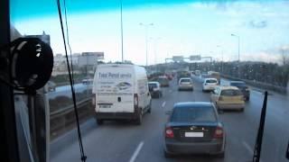 preview picture of video 'Busfahrt nach Karthago Ausflug vom Hotel AZIZA Tunesien Urlaub 2013'