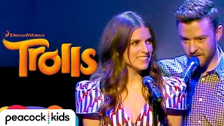Justin Timberlake and Anna Kendrick - 'True Colors' Live at Cannes [OFFICIAL] | TROLLS