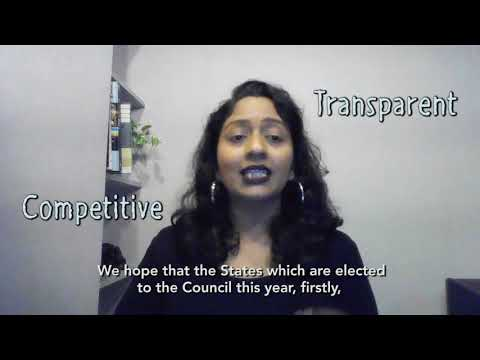 The UN Human Rights Council elections: how can you engage? (Shamini Darshni Kaliemuthu - Thailand)