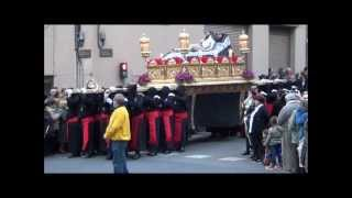 preview picture of video 'Procesión del Santo Entierro 2013- Badalona'