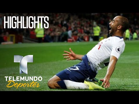 Manchester United vs. Tottenham: 0-3 Highlights | Premier League | Telemundo Deportes