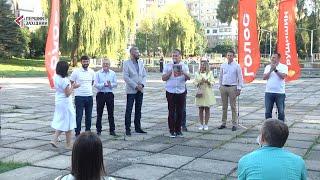 Ярослав Рущишин представив однопартійців, які балотуватимуться до міськради у Франківському районі