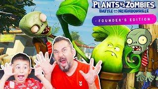 ZOMBİ YİYEN ÇİÇEKLER! | EGEMEN KAAN İLE PLANTS VS ZOMBİES FOUNDER EDITION OYNUYORUZ