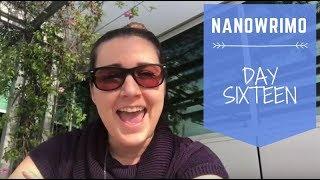 NaNoWriMo 2017 - Day 16