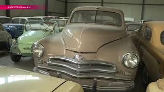 Алма-атинец – хозяин крутой коллекции советских автомобилей