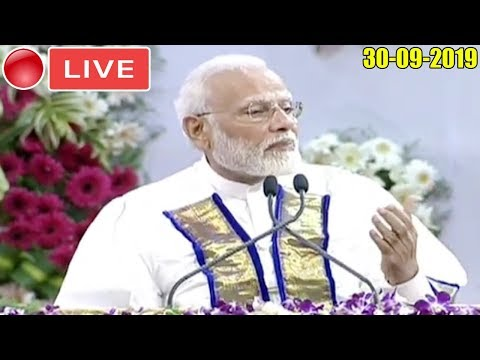 BJP LIVE   PM Modi Addresses Convocation Ceremony of IIT Madras, Tamil Nadu : 30-09-2019