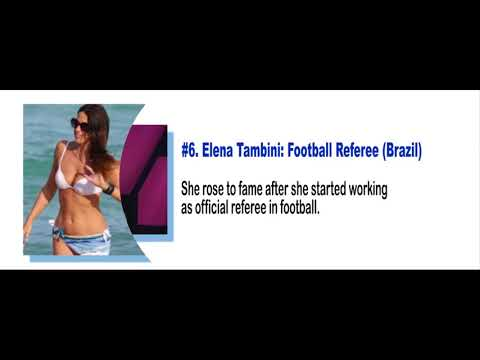 Hottest Female Referees In The World