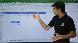 MS Excel - Auditing Tools