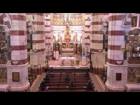 Laudes et Messe du 8 avril 2021 à Notre-Dame de la Garde