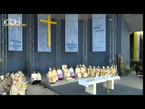 Résumé de la messe à Erfurt