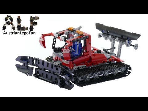 Vidéo LEGO Technic 8263 : La dameuse