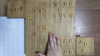 将棋◎アナログ棋譜並べ27小池重明VS加藤一二三角落ち戦