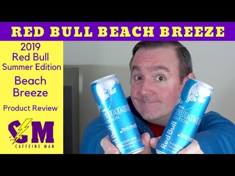 Red Bull Beach Breeze Product Review; 2019 Red Bull Summer Edition