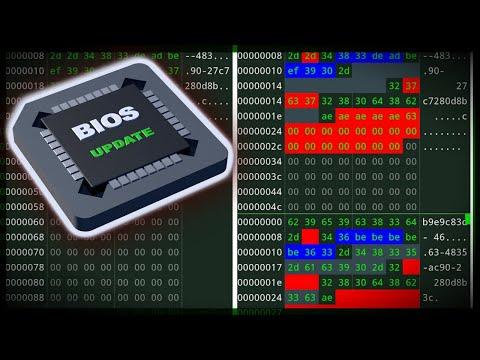 Собираем BIOS из апдейта и неисправного дампа в HEX редакторе