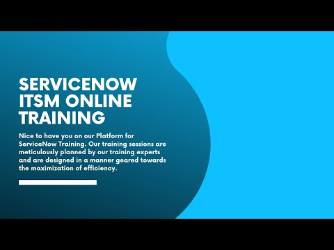 ServiceNow Online Training Demo Video   MindBox ... - YouTube