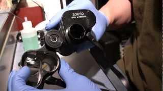 Servicing a  budget Porro binocular.