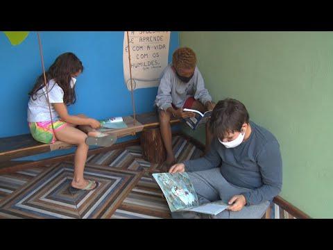 Pontos do Saber: projeto une parada de ônibus e de leitura em Teresópolis