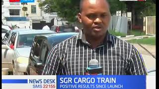 How SGR cargo train has improved the port of Mombasa