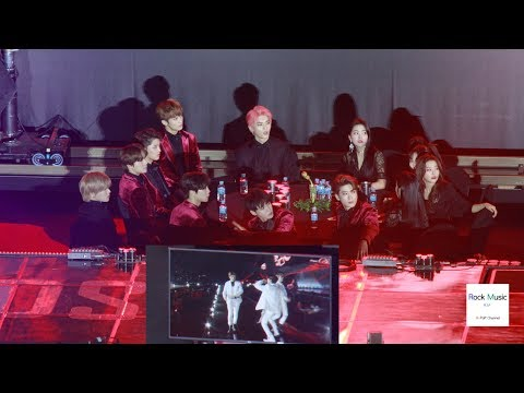 Red Velvet, NCT127 Reaction to Stray Kids Stage (Yayaya + My Pace) [4K]@190115
