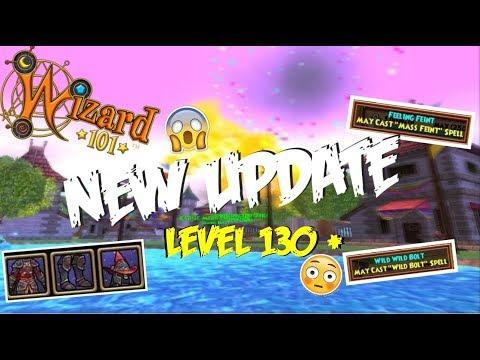 Wizard101: NEW LEVEL 130 GEAR AND BROKEN PET TALENTS! (leaks