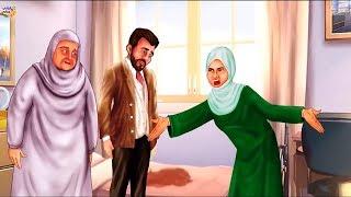 قصة تدمع لها العين شاهد ماذا فعل الابن فى امة من اجل زوجتة !
