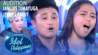 Janluis Dimayuga and Jenny Lambit | Idol Philippines 2019 Auditions