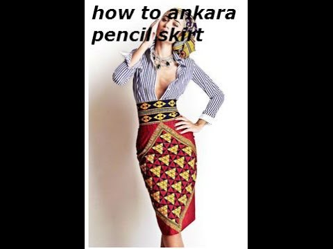 Download How To DIY Ankara Pencil Skirt With Zippers And Pattern HD Mp4 3GP Video and MP3